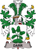 Danish Coat of Arms for Darr