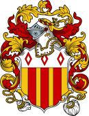 English or Welsh Coat of Arms for Wilkes