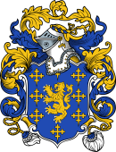 English or Welsh Coat of Arms for Jordan