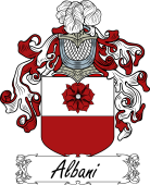 Araldica Italiana Italian Coat of Arms for Albani