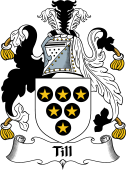 English Coat of Arms for Till