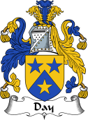 English Coat of Arms for Day