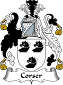 Scottish Coat of Arms for Corser