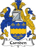 English Coat of Arms for Camden