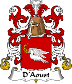 Coat of Arms from France for Aoust (d')