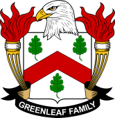 American Coat of Arms for Greenleaf