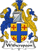 Scottish Coat of Arms for Widderspoon or Witherspoon