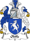 English Coat of Arms for Oliffe