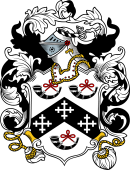 English or Welsh Coat of Arms for Burt