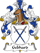German Wappen Coat of Arms for Gebhard