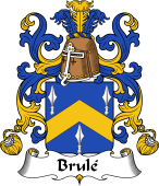 Coat of Arms from France for Brulley or Brulé
