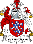 English Coat of Arms for Everingham