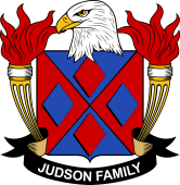 American Coat of Arms for Judson