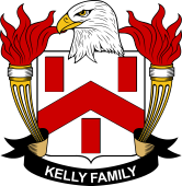 American Coat of Arms for Kelly