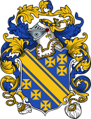 English or Welsh Coat of Arms for Bingham (Dorsetshire)