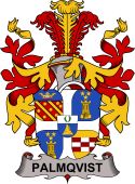 Swedish Coat of Arms for Palmqvist