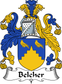English Coat of Arms for Belcher