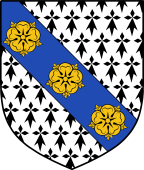 English Family Shield for Penrose