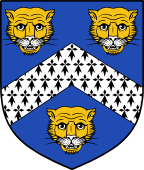 English Family Shield for Ashby