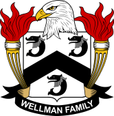 American Coat of Arms for Wellman