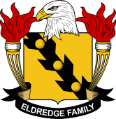 American Coat of Arms for Eldredge