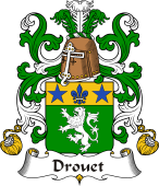Coat of Arms from France for Drouet