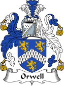 English Coat of Arms for Orwell