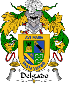 Spanish Coat of Arms for Delgado