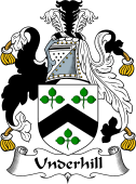 English Coat of Arms for Underhill