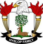 American Coat of Arms for Hyslop