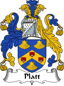 English Coat of Arms for Platt