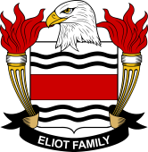 American Coat of Arms for Eliot
