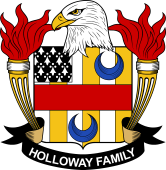 American Coat of Arms for Holloway