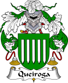 Portuguese Coat of Arms for Queiroga