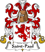 Coat of Arms from France for Saint-Paul