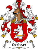 German Wappen Coat of Arms for Gerhart