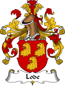 German Wappen Coat of Arms for Lode