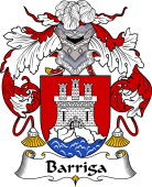 Portuguese Coat of Arms for Barriga