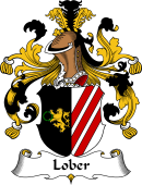 German Wappen Coat of Arms for Lober