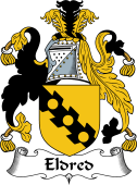 English Coat of Arms for Eldred or Eldridge