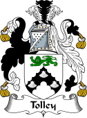 English Coat of Arms for Tolley