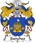 Portuguese Coat of Arms for Sanches