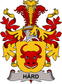 Swedish Coat of Arms for Härd
