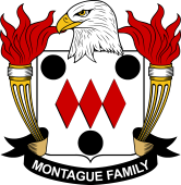 American Coat of Arms for Montague