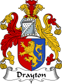 English Coat of Arms for Drayton