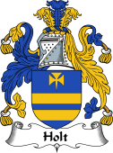English Coat of Arms for Holt I