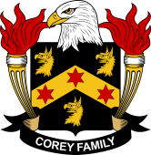 American Coat of Arms for Corey