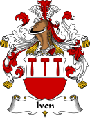 German Wappen Coat of Arms for Iven