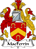 Irish Coat of Arms for MacFerrin or Fearon