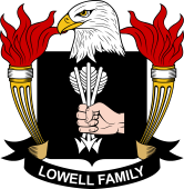 American Coat of Arms for Lowell
